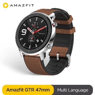Amazfit GTR Smart Watch | 47mm Global Version Stainless Steel