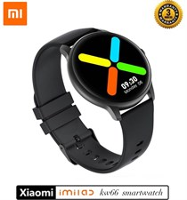 Xiaomi Imilab Kw66 Smart watch | Metal Body - 3D Curved Glass Full Touch HD Display
