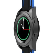 G6 Smart Watch-MATTE BLACK SILICON STRAP