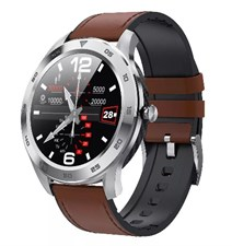Business Formal DT98 Classic Bluetooth HD Leather strap Smart watch for men