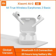 Original Xiaomi Mi True Wireless Earphone 2 Basic With Touch Controls and Noise Cancellation