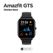 Xiaomi Huami Amazfit GTS Smart watch | 42mm Global Version Obsidian Black
