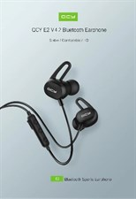 Qcy E2 V4.2 Bluetooth Wirless Sports Earphones