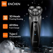 Xiaomi Enchen Blackstone 3D Electric Shaver Razor for Men Beard Hair Trimmer | USB Type-C Rechargeab